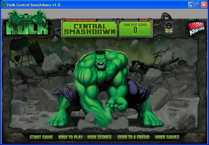 Флеш игра Халк 2 SmashDown (Hulk 2 SmashDown) онлайн.